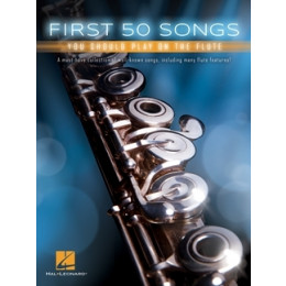 FIRST 50 SONGS - Flûte