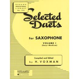 Selected Duets pour Saxo - Vol 1