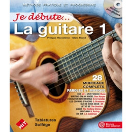 JE DEBUTE LA GUITARE VOL  1 CD