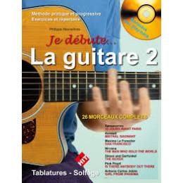 JE DEBUTE LA GUITARE VOL  2 + CD