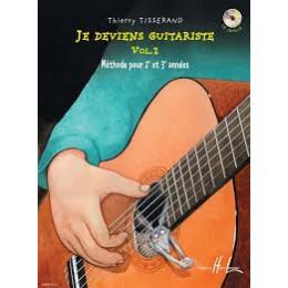 JE DEVIENS GUITARISTE - VOL 2 de TISSERAND