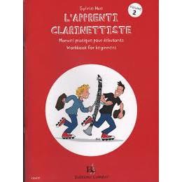 L'APPRENTI CLARINETTISTE VOL 2 de Sylvie HUE
