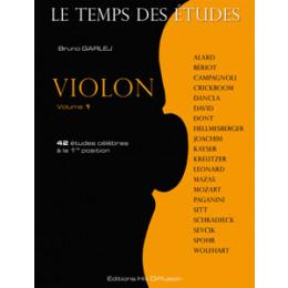 Le temps des études - Violon - Vol 1
