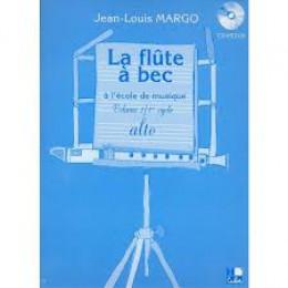 La flûte à bec alto de MARGO