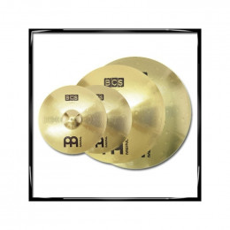 MEINL - Pack 3 cymbales - BCS