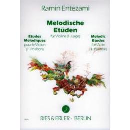 ENTEZAMI - Etudes violon - Vol 1