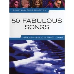 50 Fabulous Songs - Piano facile