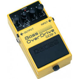 BOSS - ODB 3 - OVERDRIVE pour basse
