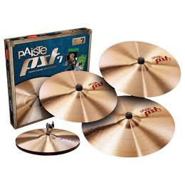 Pack CYMBALES PAISTE PST 7 ROCK