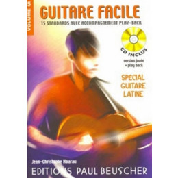 GUITARE FACILE - Volume 5 - SPECIAL GUITARE LATINE