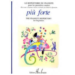 Le Répertoire du pianiste - Piu Forte 1