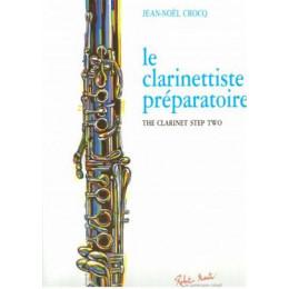CROCQ - Le clarinettiste préparatoire