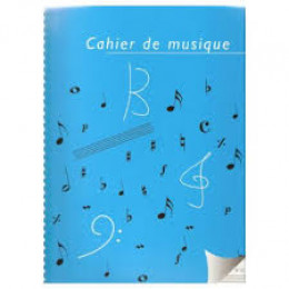 Cahier de musique / spirale