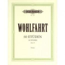 WOHLFAHRT  60 études  OP 45