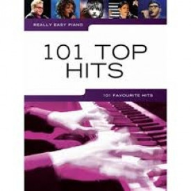 101 TOP HITS - Piano facile