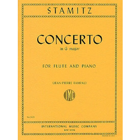 STAMITZ - Concerto Flûte et Piano - G major