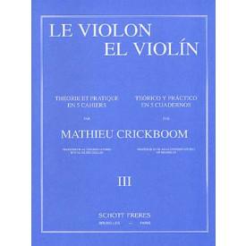 CRICKBOOM - Le violon théorie et pratique - 3