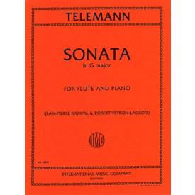 TELEMANN - sonate G major flute