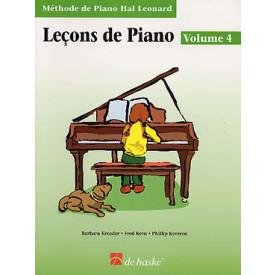 KEVEREN - Leçons de piano - Vol 4