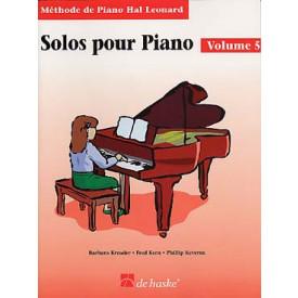 KEVEREN - Solos pour piano - Vol 5