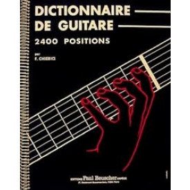 Dictionnaire d'accords guitare