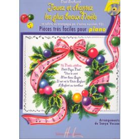 Jouez et Chantez les plus beaux Noëls - Piano