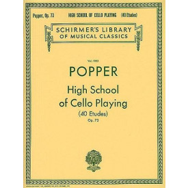 POPPER - High School of Cello Playing
