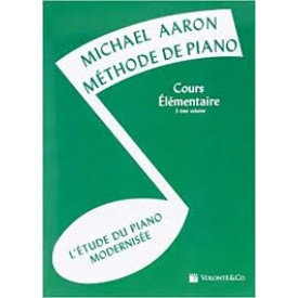 Méthode de piano - AARON - Vol 3