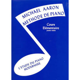 Méthode de piano - AARON - Vol 1