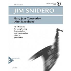 Easy Jazz Conception pour Saxo Alto
