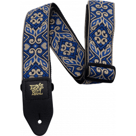 ERNIE BALL - Courroie - Tribal Blue