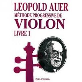 AUER - Méthode progressive de violon  1