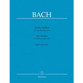 BACH - 6 Suites pour Violoncelle