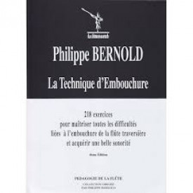 BERNOLD la technique d'embouchure