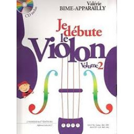 BIME - APPARAILLY Je débute le violon 2