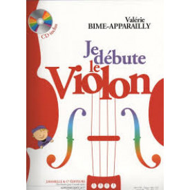 BIME - APPARAILLY Je débute le violon