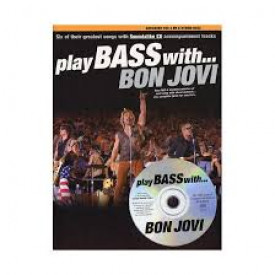 PLAY BASS WITH BON JOVI
