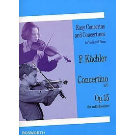 KUCHLER concertino in D opus 15 violon