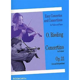 RIEDING concertino in A minor op 21