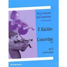 KUCHLER concertino in D opus 12 violon