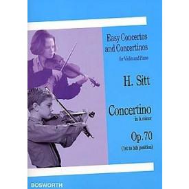 SITT concertino in A minor opus 70