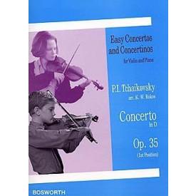 Tchaikovsky concerto in D op 35 violon