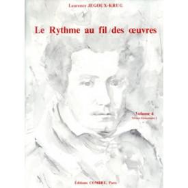 Le Rythme au fil des oeuvres - Vol 4 - de JEGOUX-KRUG