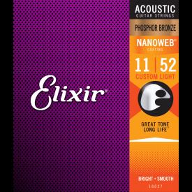 ELIXIR - Cordes folk - 11/52 - Phosphor Bronze