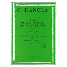 DANCLA 6 petits solos concertos violon
