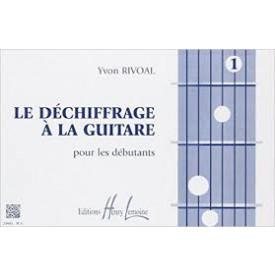 RIVOAL - Déchiffrage à la guitare 1