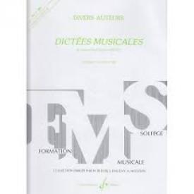 JOLLET - Dictées musicales vol 3