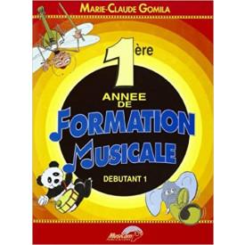 GOMILA - Mes premières années de Formation Musicale