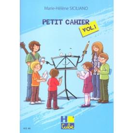 SICILIANO - PETIT CAHIER - Vol 1
