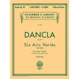 DANCLA 6 airs variés violon